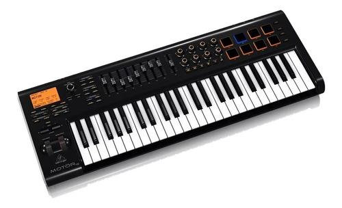 teclado controlador midi behringer motor 49 + garantía