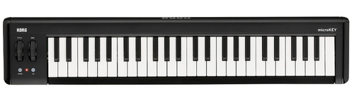 teclado controlador midi korg microkey 49