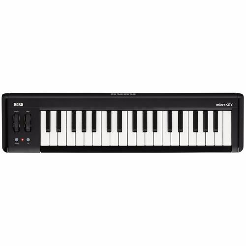 teclado controlador midi korg microkey2-37