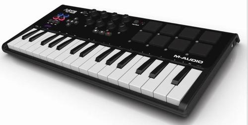 teclado controlador midi m audio axiom mini 32
