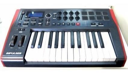 teclado controlador midi novation impulse 25