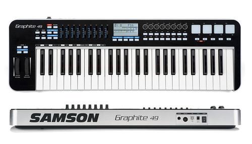 teclado controlador midi samsom graphite 49