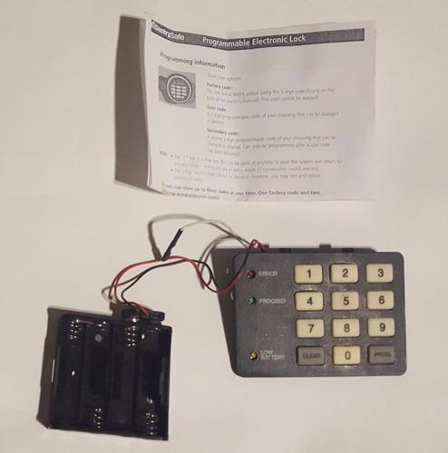 teclado controlador standalone apertura de puerta cctv hm4
