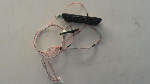 teclado da tv led philco ph32f33dg com sensor remoto