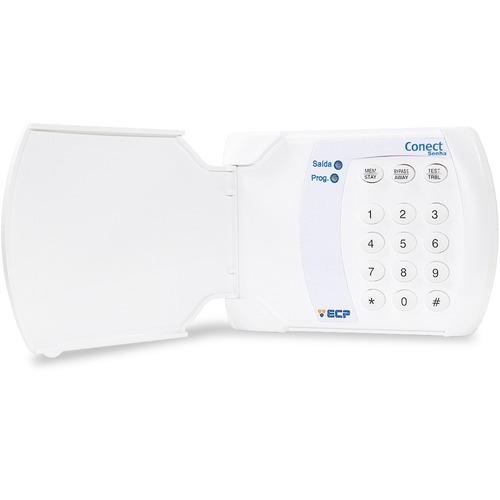 teclado de acesso com senha com fio connect ecp