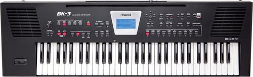 teclado de acompañamiento roland bk3 bk oferta buen fin 2017