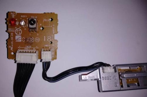 teclado de funções + placa sensor da tv philips 32pfl5332/78