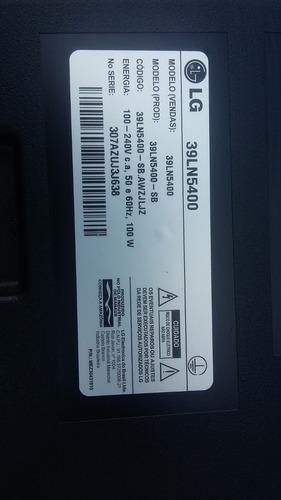 teclado de funções tv led 39ln5400 100% original
