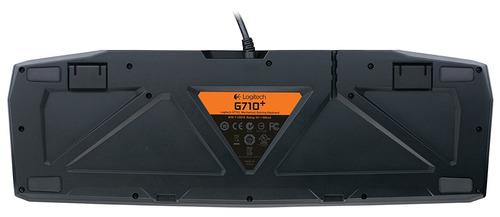 teclado de juego logitech g710+ mecánico c/teclas alta veloc