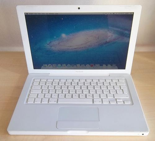 teclado de lapto mackbook  blanco modelo ma700b/a 13 pulgada