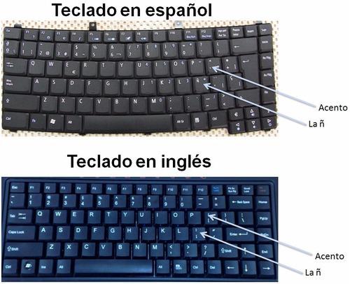 teclado de laptops en español ñ hp toshiba acer dell lenovo