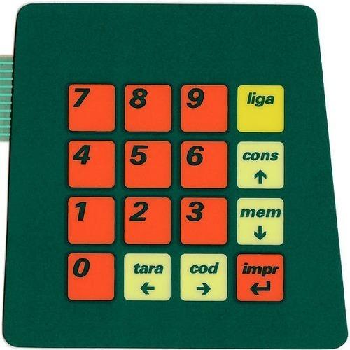 teclado de membrana balança filizola bcsa