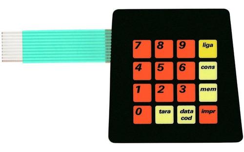 teclado de membrana balança filizola bcsi