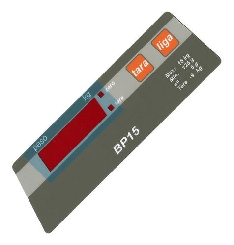 teclado de membrana balança filizola bp15 marrom