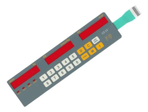teclado de membrana balança filizola cs 15 lcd cinza