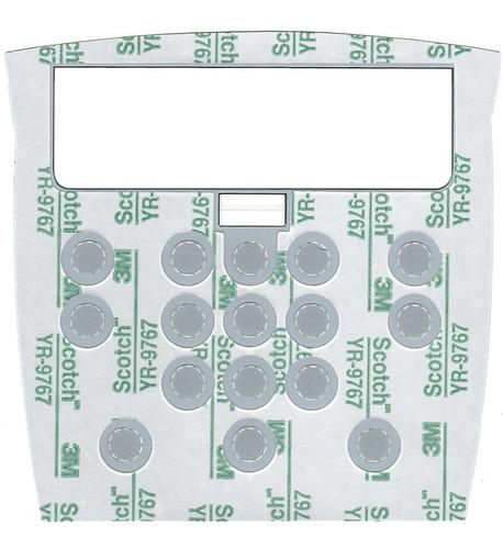 teclado de membrana balança filizola idm led 16 teclas cinza