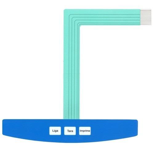 teclado de membrana da balança toledo 9094 light azul