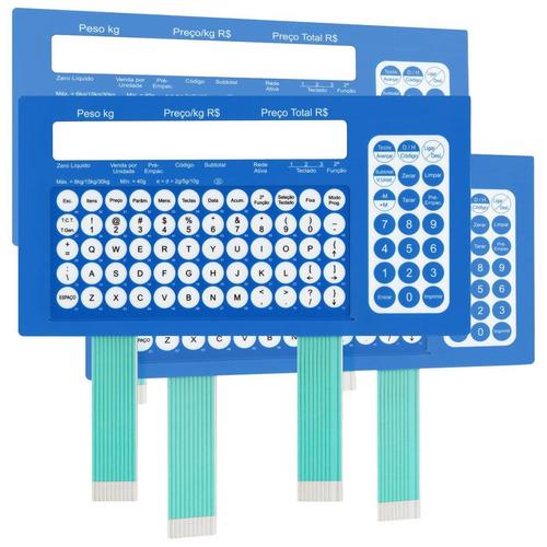 teclado de membrana da balança toledo prix 4 plus