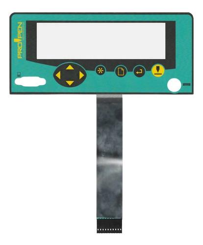 teclado de membrana para o gravador propen m3000 portátil