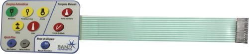 teclado de membrana spotter band 1800 digital automática
