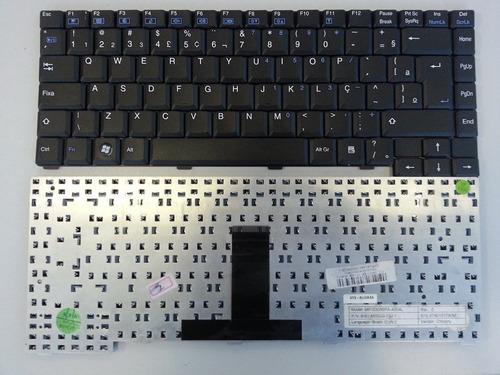 teclado de notebook - positivo - linha v e linha z