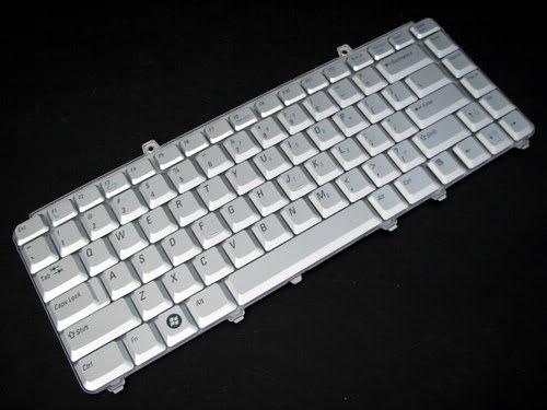 teclado  dell inspiron 1420 1520 1521 1525  us prata
