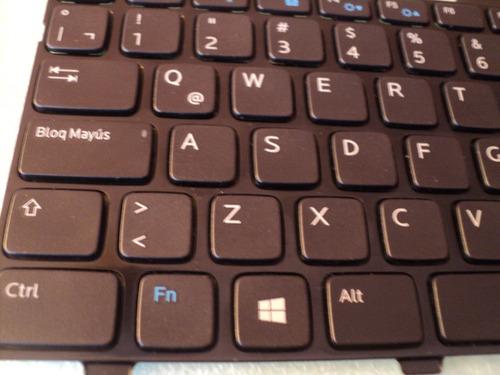 teclado dell inspiron 14r 5421  en español como nuevo