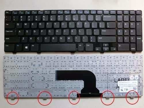 teclado dell inspiron 15-3521 15r-5521 15-3537 - etc