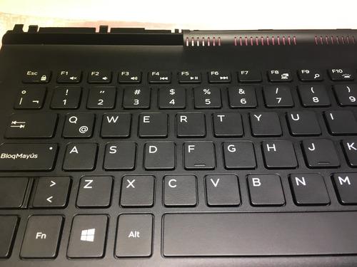 teclado dell inspiron 15 7000 gaming series 7567 / 7566
