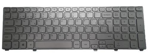 teclado dell inspiron 17-7000 17-7737 17-7746 plata español