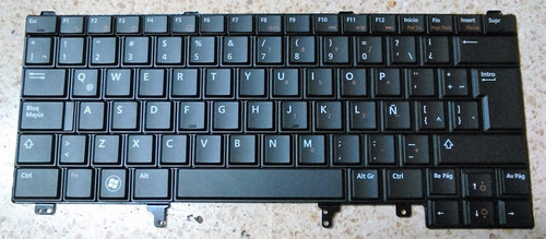 teclado dell latitude e5420m e6320 e6330 e6420 e6430 español