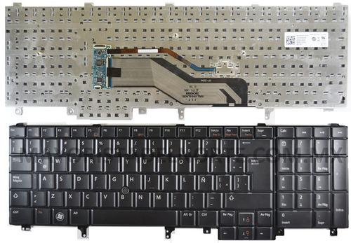 teclado dell latitude e5520 e5530 e6520 e6530 e6540 español
