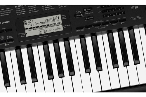 teclado digital arranjador 61 teclas ctk-3500 casio + fonte