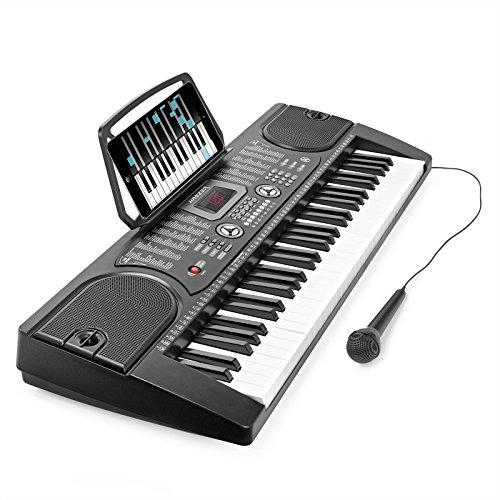 13ebe881aee2c Teclado Digital Hamzer 61-key - Instrumento Portátil -   445.900 en ...