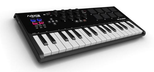 teclado dj controlador midi 32 teclas axiom air + ignite