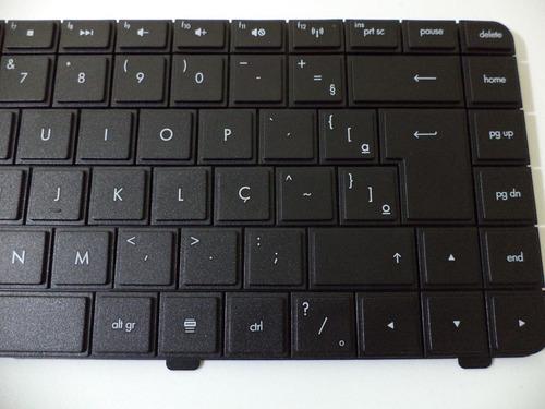 teclado do notebook hp g42 series pn: v112246ar1