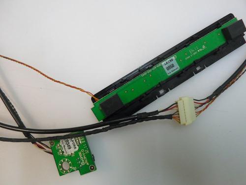 teclado e sensor tv aoc lc42h053 original