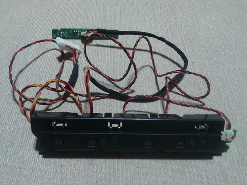 teclado e sensor tv led philips mod. 42pfl4007g/78
