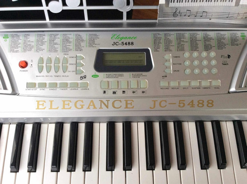 teclado eléctrico de 54 teclas