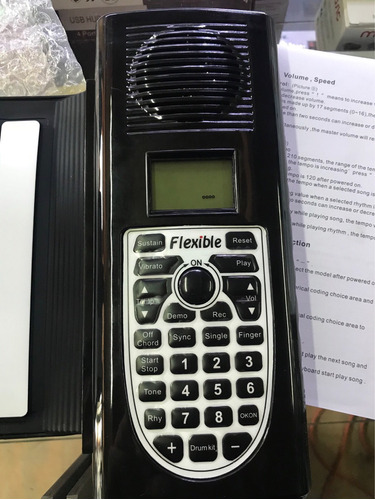teclado electrónico goma 61 teclas factura