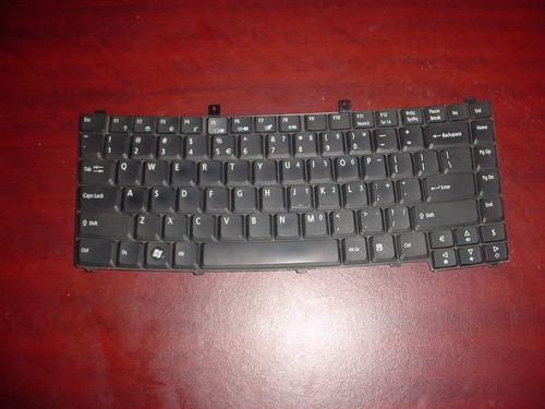 teclado en inglés acer travelmate 2450 sin probar
