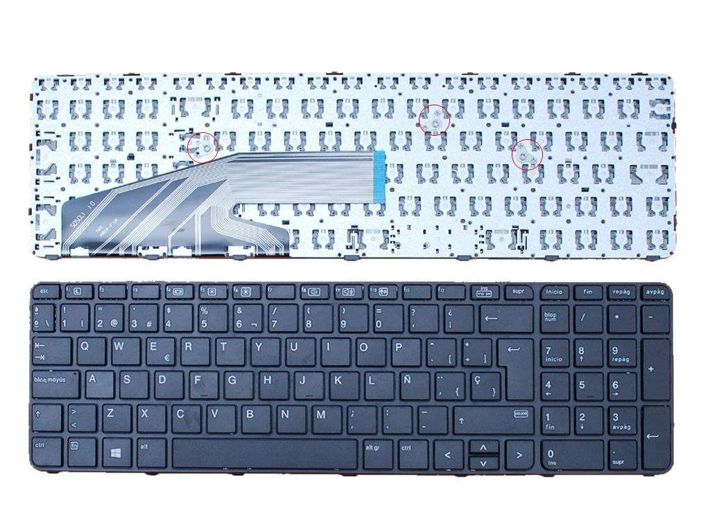 Teclado Español Hp Probook 450 G4 455 G4 470 G4 Nextsale