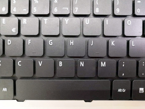 teclado español (sp) aspire 5552 5553 5560 5625 series negro