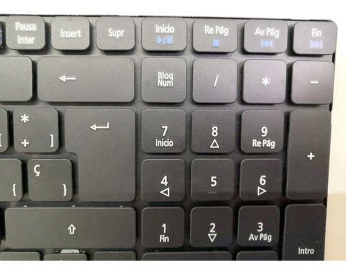 teclado español (sp) aspire 5733 5736 5738 5739 series negro