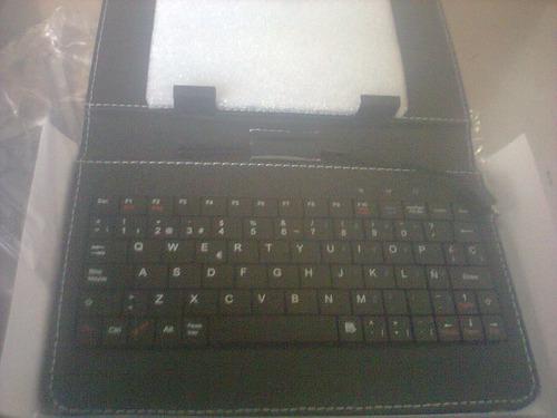 teclado + estuche para tablets