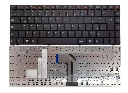teclado exo vb40 mb40 bgh mp 09p86la 3602 82b382-fb6123 a400