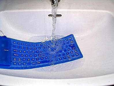 teclado flexible usb