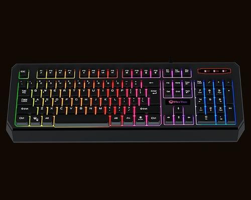 teclado gamer español mt-k9320 meetion impermeable