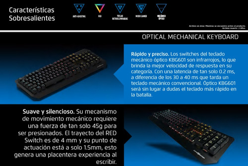 teclado gamer game