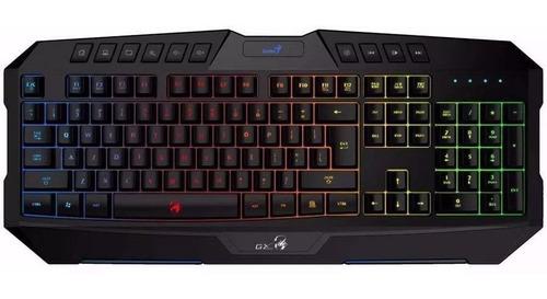 teclado gamer genius scorpion